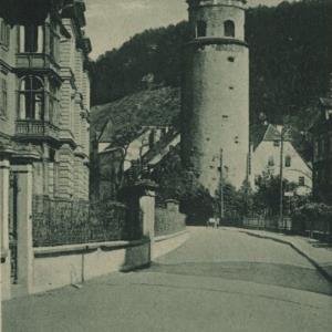 Feldkirch, Vorarlberg - Katzenturm von Kunst- und Verlagsanstalt, Monopol