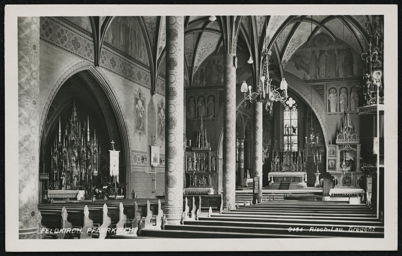 Feldkirch, Pfarrkirche / Risch-Lau von Risch-Lau, ...