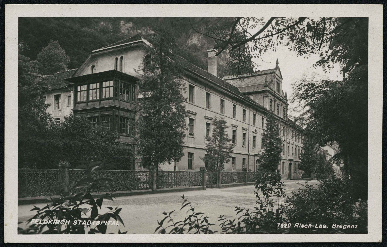 Feldkirch Stadtspital / Risch-Lau von Risch-Lau, ...
