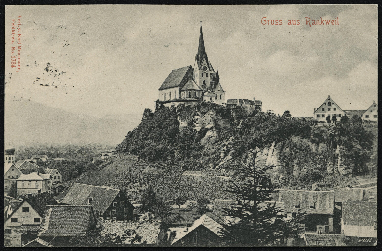 Gruss aus Rankweil von Moosmann, Karl