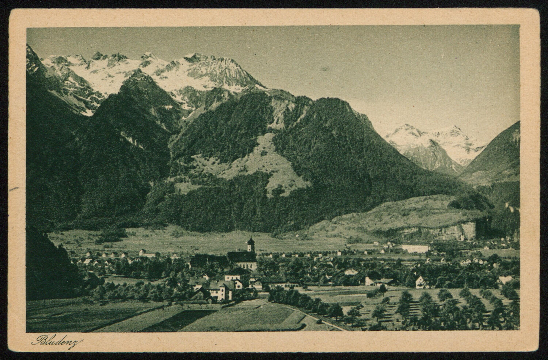 Bludenz / Aufnahme von J. Fritz jr. von Fritz, Josef