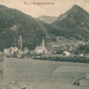 Au i. Bregenzerwalde / Aufn. v. C. Risch-Lau von Risch-Lau, C.
