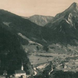 Au im Bregenz. Wald 796 m / L. Heim von Heim, L.