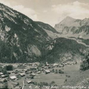 Au, Breg. Wald Mittagspitze u. Didamskopf / Heim von Heim, ...