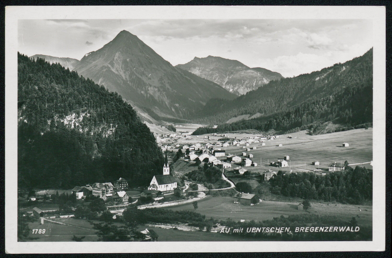 Au mit Uentschen, Bregenzerwald / Aufnahme von Risch-Lau von Risch-Lau, ...