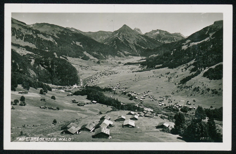 Au i. Bregenzer Wald / Aufnahme von Risch-Lau von Risch-Lau, ...