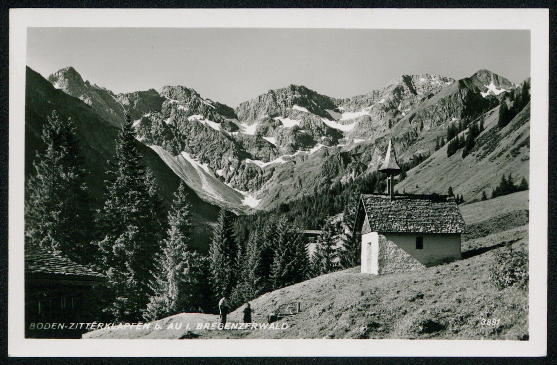 Boden-Zitterklapfen b. Au i. Bregenzerwald / Aufnahme von Risch-Lau von Risch-Lau, ...