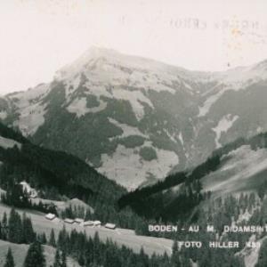 Boden - Au m. Didamspitze / Hiller von Hiller, ...