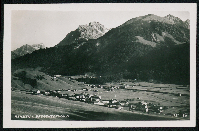 Au Rehmen i. Bregenzerwald / Aufnahme von Risch-Lau von Risch-Lau, ...