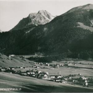 Au Rehmen i. Bregenzerwald / Aufnahme Risch-Lau von Risch-Lau, ...
