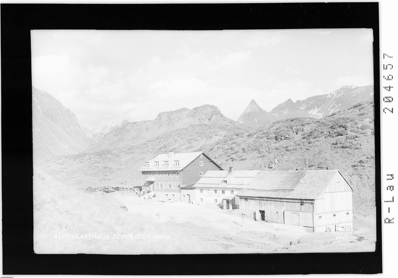 Alpengasthaus Zeinisjoch 1860 m von Risch-Lau