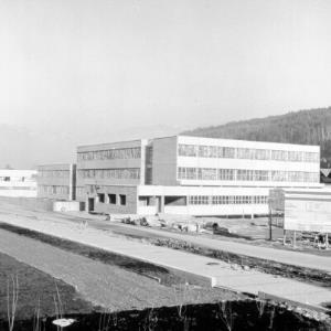 Gymnasium Feldkirch - Rohbau (Repro) / Helmut Klapper von Klapper, Helmut