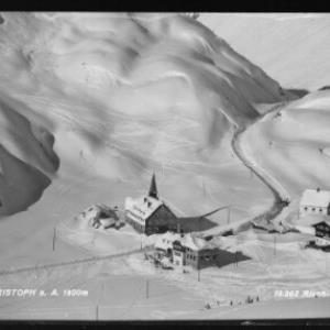 St.Christoph am Arlberg 1800 m von Risch-Lau