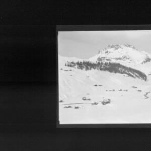 Lech am Arlberg / Blick zum Karhorn von Risch-Lau