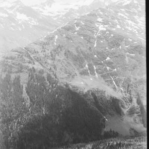 Blick vom Galzig zur Fatlarspitze und zur Saumspitze von Risch-Lau