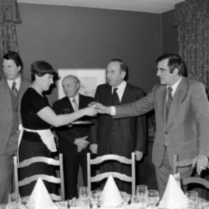 Joss, Schweizer Konsul, Verabschiedung / Helmut Klapper von Klapper, Helmut