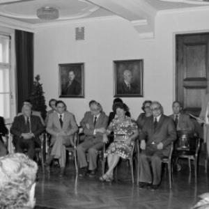 Lehrerpensionisten Verabschiedung (Gasser) / Helmut Klapper von Klapper, Helmut
