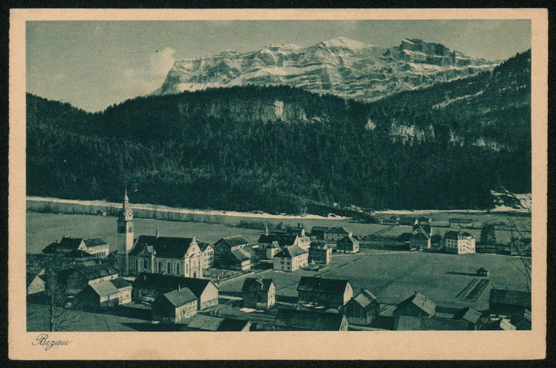 Bezau / Aufnahme von J. Fritz jr. von Fritz, Josef