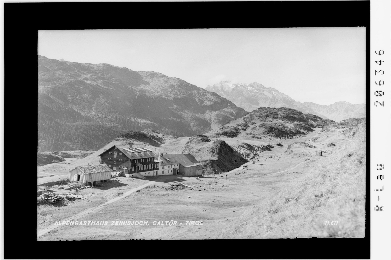 Alpengasthaus Zeinisjoch / Galtür - Tirol von Risch-Lau