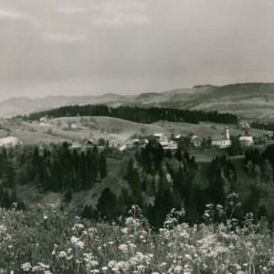 Krumbach im Bregenzerwald / Aufnahme von Rhomberg von Rhomberg, ...